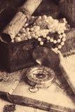 Skarb klatka piersiowa ilustracja wektor