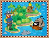 Skarb mapy tematu wizerunek 8 Obrazy Royalty Free