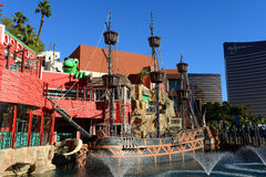 Skarb wyspa, Las Vegas, NV Fotografia Royalty Free