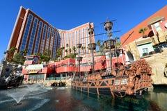 Skarb wyspa, Las Vegas, NV Zdjęcia Stock