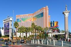 Skarb wyspa, Las Vegas, NV Obrazy Stock