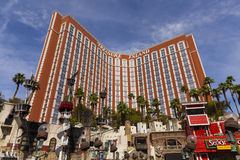 Skarb wyspy hotel w Las Vegas, NV na Sierpień 02, 2013 Obrazy Royalty Free