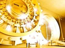skarbiec złota Obrazy Stock
