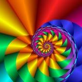 skarbikowana rainbow Obrazy Stock