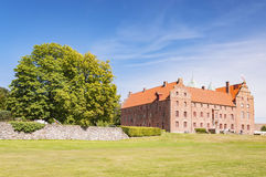 Skarhult Castle. Skarhult slott is a castle in Eslov Municipality, Scania, in southern Sweden. Skarhult is one of Sweden's best preserved renaissance castles Royalty Free Stock Image