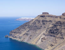 Skaros Rock, Santorini Stock Photography