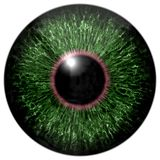 Skarp attraktiv djup ögontextur 3D 16 Arkivfoto