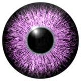 Skarp attraktiv djup ögontextur 3D 2 Royaltyfri Foto