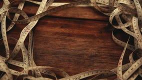 Skarp längd i fot räknat för tabellmeterhd arkivfilmer