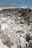Skarpa rocks Royaltyfri Fotografi