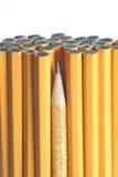 skarpast gruppblyertspenna Arkivfoton