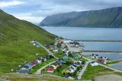 Skarsvag village, Norway Stock Photography