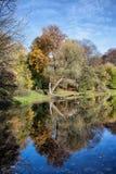Skaryszewski Park in Warsaw Stock Photo