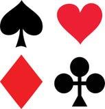 skat покера Стоковые Фото