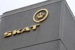 SKAT_丹麦征税办公室SLUSEHOLMS 库存照片
