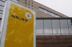 SKAT-_DÄNISCHES TAXATIO BÜROGEBÄUDE Lizenzfreies Stockbild