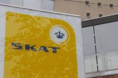 SKAT-_DÄNISCHES TAXATIO BÜROGEBÄUDE Lizenzfreies Stockfoto