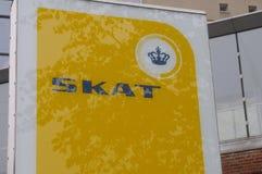 SKAT-_DÄNISCHES TAXATIO BÜROGEBÄUDE Lizenzfreie Stockfotografie