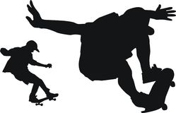 Skate Imagem de Stock Royalty Free