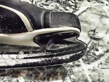Skate. Winter sports - detail of a skate Stock Image