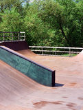Skate, bike park - wooden, outdoors Stock Image