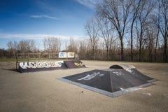 Skate Board ramp Stock Photos
