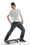 Skate Board Teenager Royalty Free Stock Photography