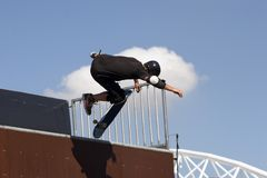 Skate Boarder Stock Image
