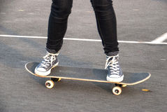 Skate Boarding Royalty Free Stock Image