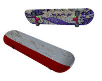 Skate boards clipart Stock Photo