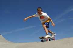 Skate Boy. Boy skateboarding stock photos