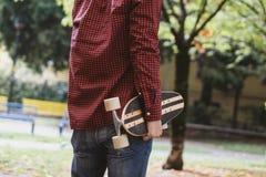 Skate boy city Stock Image