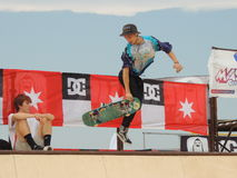 Skateboard XMA contest - Senigallia 2015 Stock Photo