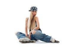 Skate girl Royalty Free Stock Photo