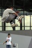 Skate jump 2. Stock Photos