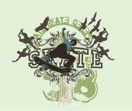 Skate line Stock Photography