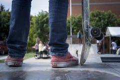 Skate Mexican. Parque Skate en la ciudad de Puebla Royalty Free Stock Photo
