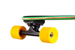 Skate ou longboard fotografia de stock