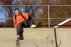 At the Skate Park Stock Photography