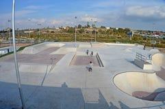 Skate Park - Roller Skating Concrete Urban Rollerblade Venue Royalty Free Stock Photography