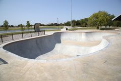 Skate Park at Northeast Community Park Royalty Free Stock Photo