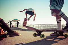 Skate Park Royalty Free Stock Photography