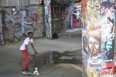 Skate Park South Bank Centre London Urban Art Street Art Stock Photography