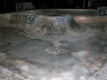 Skate park spain royalty free stock image