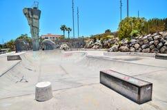 Skate Park. Sport Photo Concept Picture of a Skate Park Stock Images