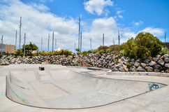 Skate Park. Sport Photo Concept Picture of a Skate Park Royalty Free Stock Photo