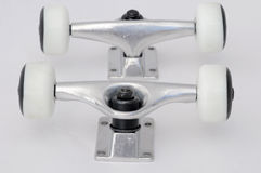Skate Parts, Truck and Wheels Royalty Free Stock Photography