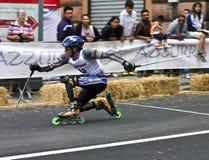 Skate Slalom European Cup Royalty Free Stock Photography