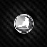 Skate web icon. This is file of EPS10 format Stock Photo