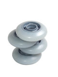 Skate Wheels Isolated On White